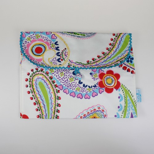 Envelope para a roupa - patchwork